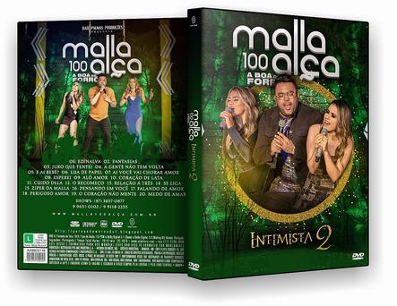 DVD Malla 100 Alça - Intimista 2 - ISO