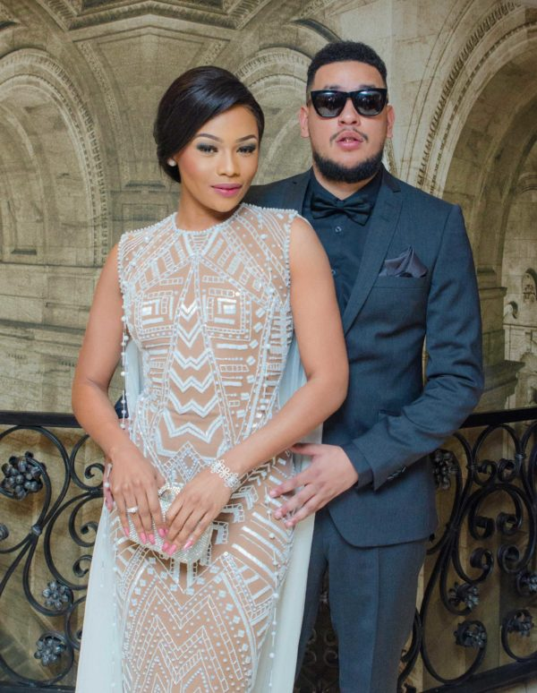 South African rapper AKA announces on Twitter that he has split from Bonang Matheba