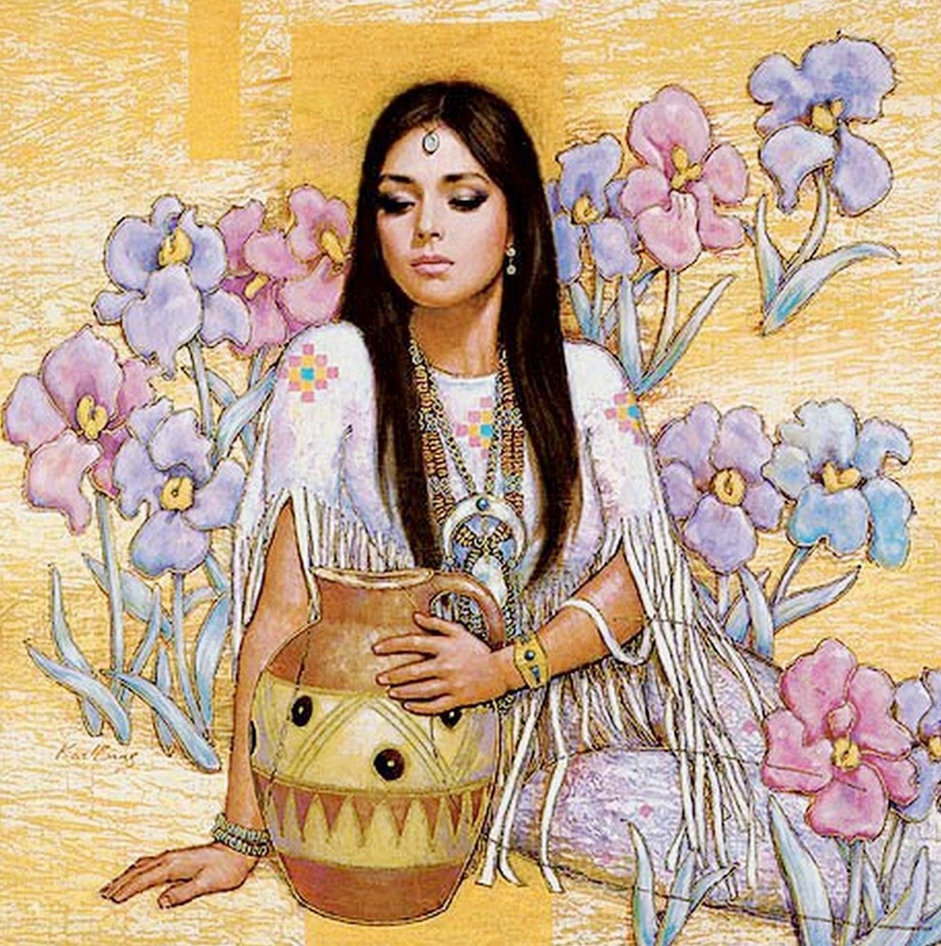Cuadros modernos pinturas y dibujos flores pintadas al - Cuadros con fotografias ...