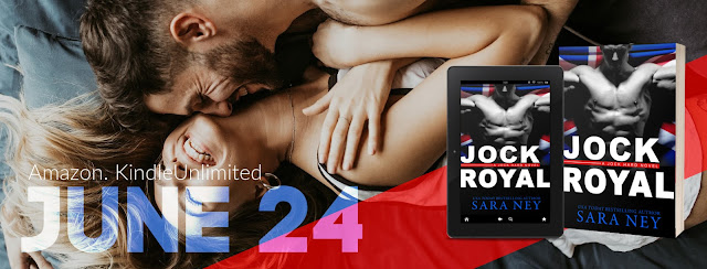 Cover Reveal:  Jock Royal by Sara Ney
