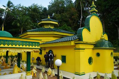 kompleks makam Engku Putri Raja Hamidah