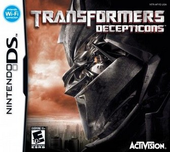 Rom Transformers Decepticons NDS