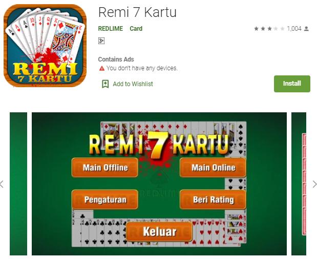 Game Remi 7 Kartu Untuk Android Bisa Online Dan Offline