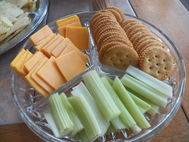 Cheese, Crackers and Celery