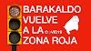 Barakaldo entra en la zona roja por covid19