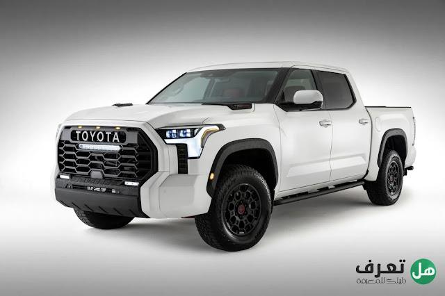 الكشف عن سيارة  تويوتا تندرا Toyota Tundra TRD Pro 2022 في الصورة الرسمية