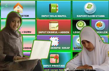 Aplikasi Raport MA Kurikulum 2013 Edisi Revisi Sesuai Permen 53 Tahun 2015
