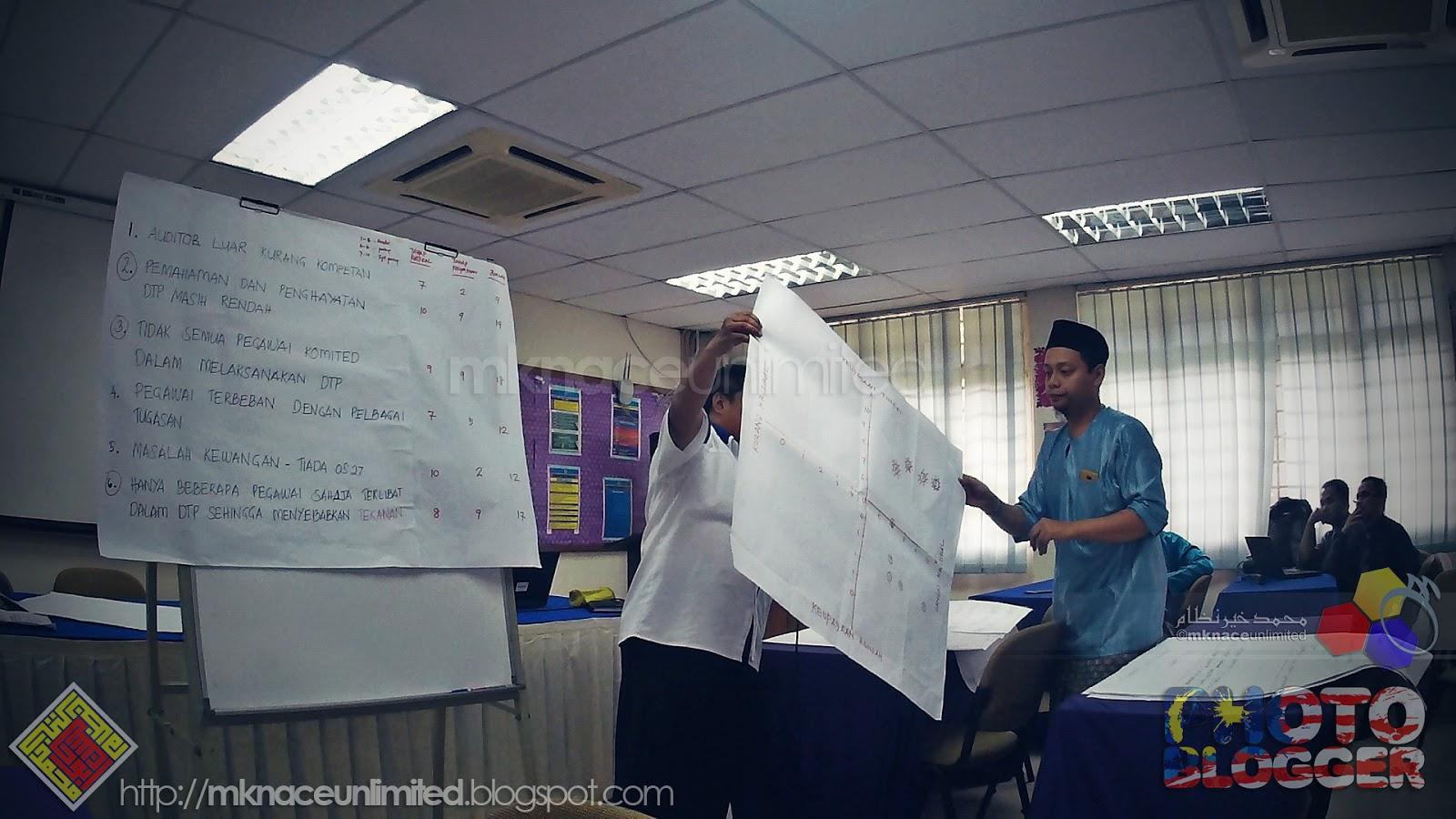 Semua peserta dapat menyediakan pelan tindakan berdasarkan masalah yang  dikenalpasti. Semoga sedikit ilmu yang dikongsi ini akan memberi manfaat  pada semua. 337ced09d5