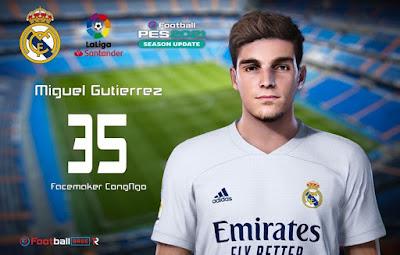 PES 2021 Faces Miguel Gutiérrez by CongNgo