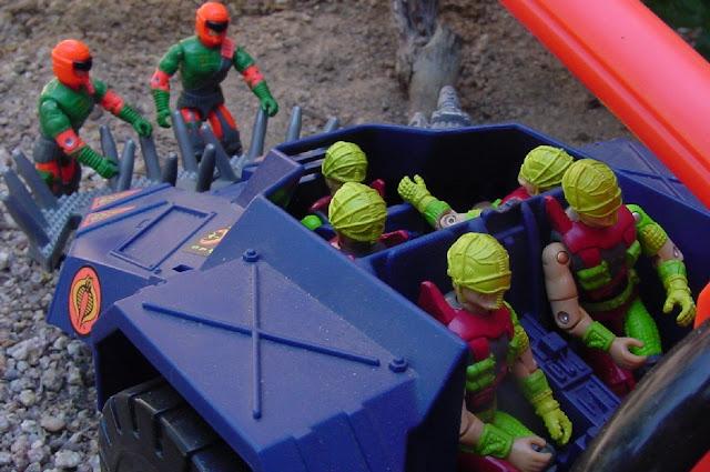 1993 Cyber Viper, Mega Marines, Detonator, Flak Viper