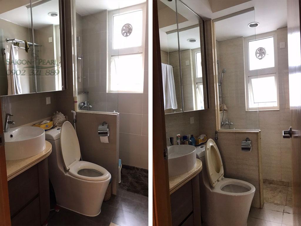 {Ruby 2 Saigon Pearl} cho thuê căn hộ 3PN tầng cao nội thất đẹp - hình 9