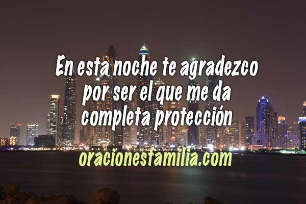 protección de la noche oración corta