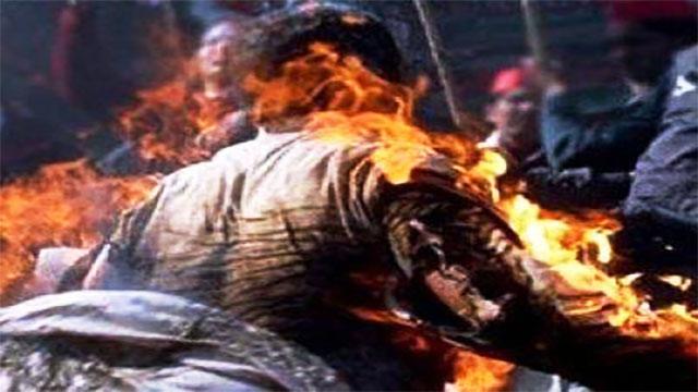 فاس: توفي بائع متجول بعد إضرامه النار في جسده