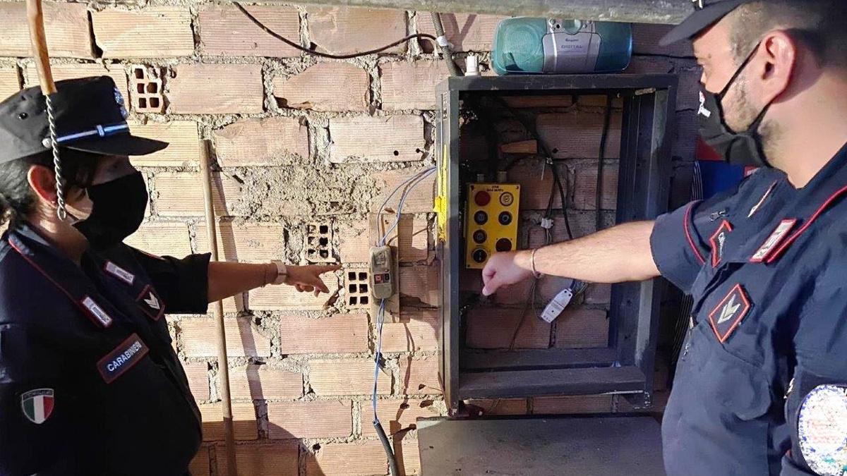 furto di energia elettrica a palagonia