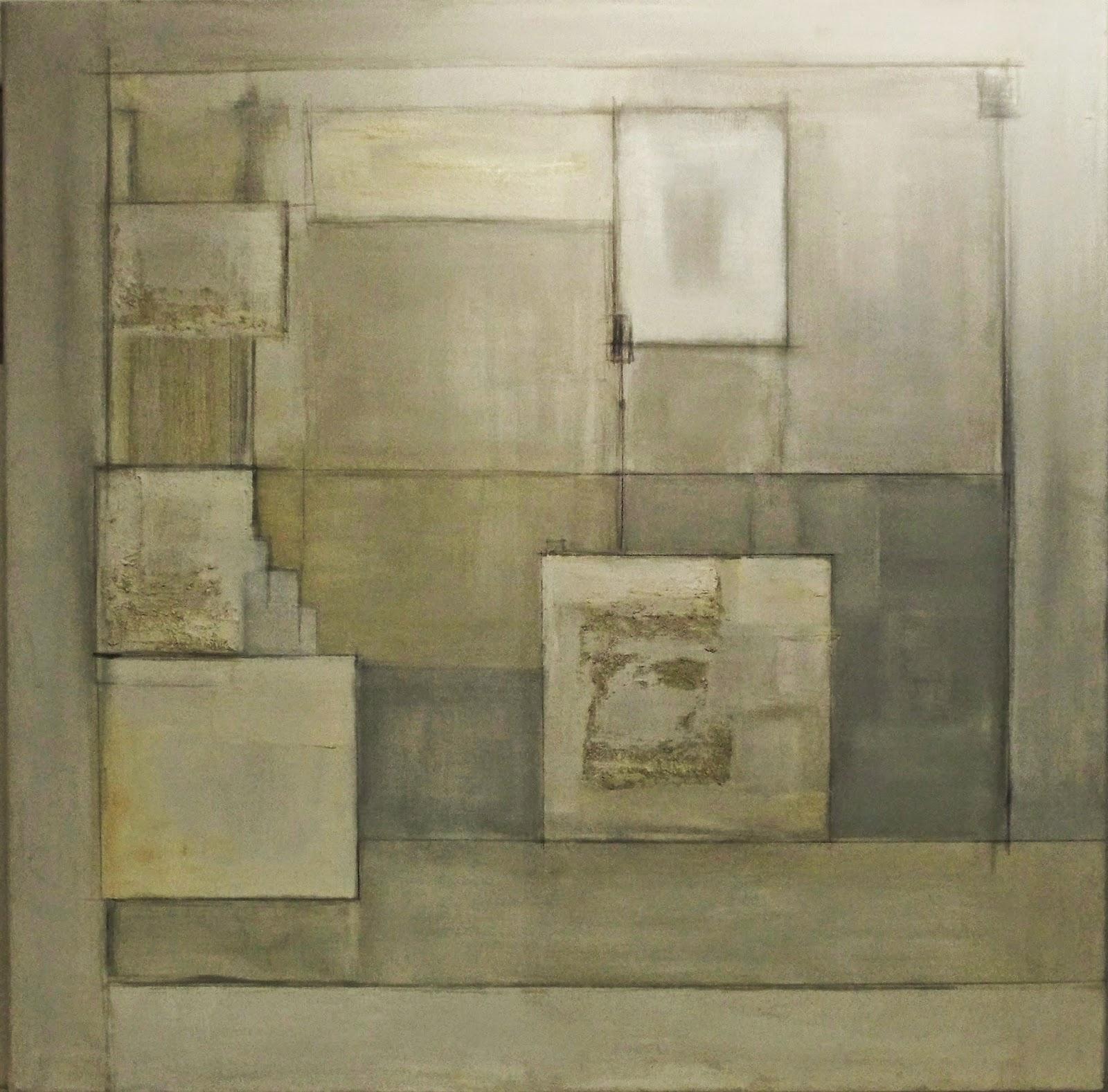 Pinturas abstractas de vanina martinez blancas for Cuadros con relieve modernos