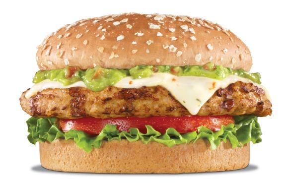 Charbroiled Turkey Burger, Freshly prepared Guacamole, Pepper Jack ...