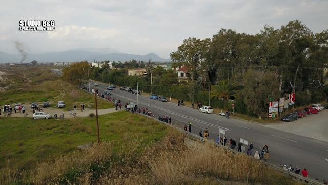 Με μεγάλη συμμετοχή η διαμαρτυρία για την προστασία από την ρύπανση του Αργολικού Κόλπου (βίντεο)