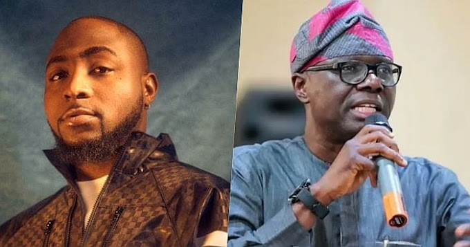 """No Control Over Lagos, What A Shame"" – Davido Shades Sanwo-Olu"
