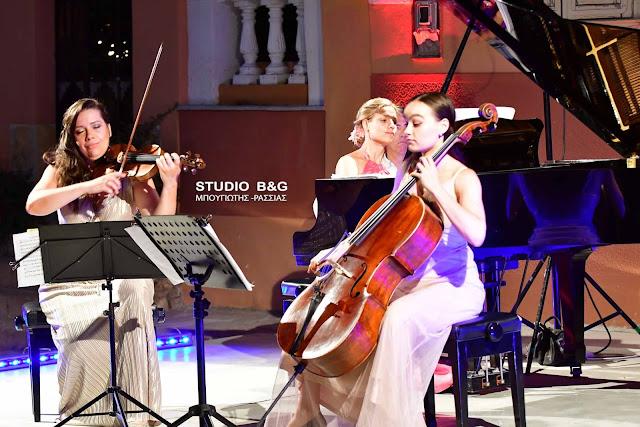 Συνεπήρε το κοινό το Puella Trio στο 28ο Φεστιβάλ Ναυπλίου