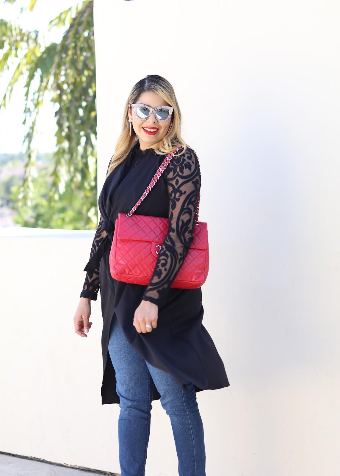 Designer Vault red Chanel, Designer Vault blogger, Designer Vault chanel bags, Designer Vault Carlsbad