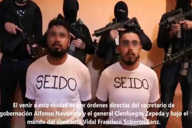 """ESTRATEGIA FEDERAL """"PICUDEO"""" al C.J.N.G y SALIO RESPONDON el GRUPO de SICARIOS"""