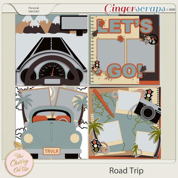 Road Trip Templates