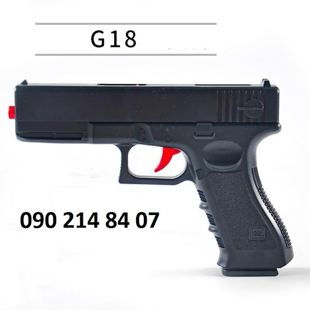 Súng lục đạn thạch G18 lên đạn bắn từng viên
