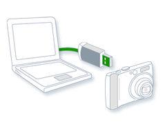 كيف يمكنني نقل صور من الكاميرا إلى الكمبيوتر؟
