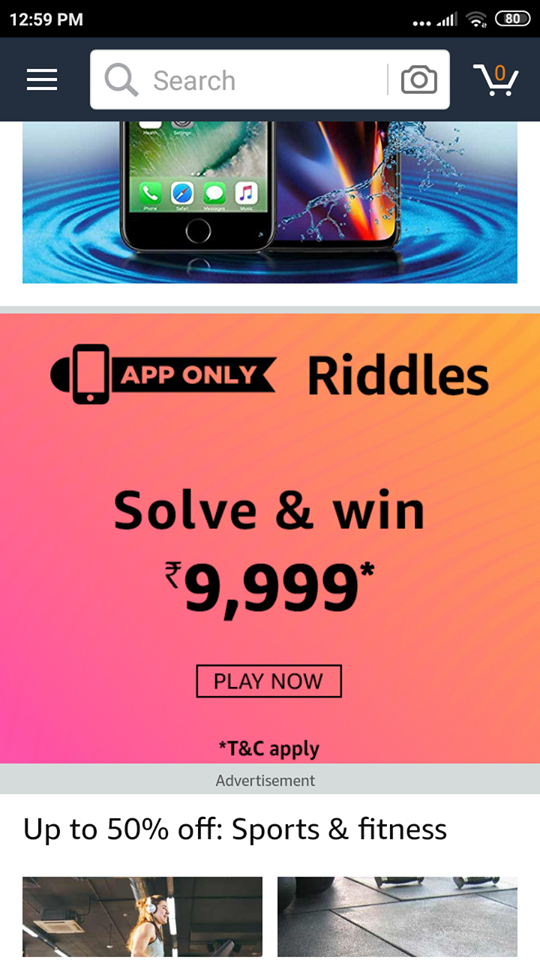 Amazon Solve Riddle And Win Rs 9999 - Freebie Giveaway