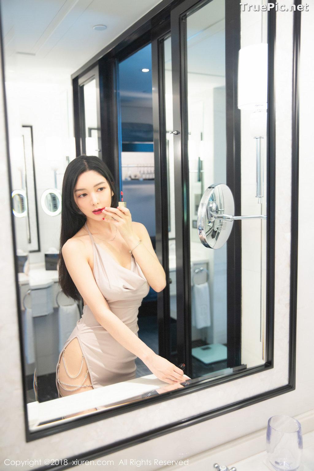 Image XIUREN No.1141 - Chinese Model - Xiao Reba (Angela小热巴) - Sexy Dress Tonight - TruePic.net - Picture-29