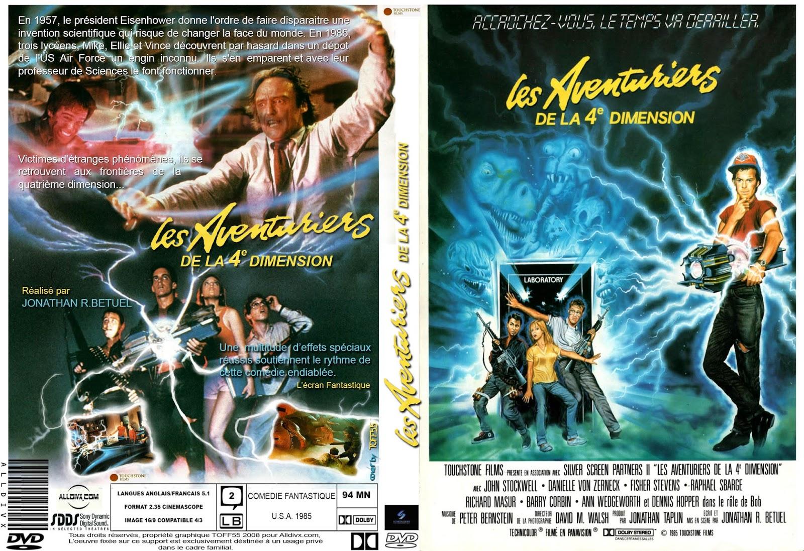 les aventuriers de la 4eme dimension