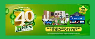 Promoção Leleo Móveis 40 Anos Aniversário -  Prêmios, Participar