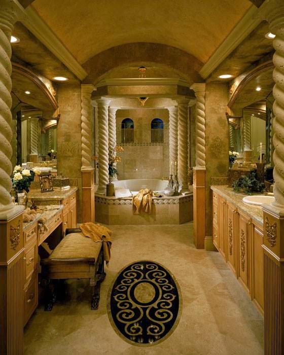 تشكيله من تصميمات الفلل وحمامات السباحه للذوق الراقى