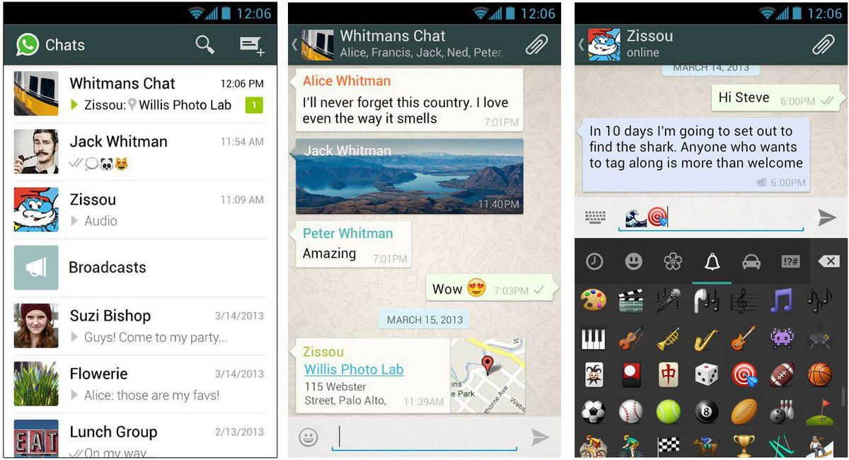 new version of whatsapp messenger for android free download