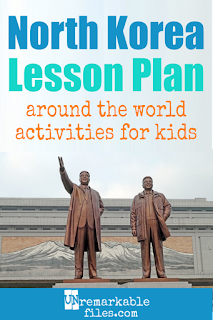 Struggling to build an age-appropriate North Korea lesson plan for your students? Are you doing a communism unit in your K-12 social studies classroom? Try these free and fun DPRK activities, crafts, books, and free printables for teachers and educators! #northkorea #dprk #lessonplan #kids