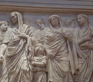 Julia Octavio, Marco Agripa, Tiberio, Augusto