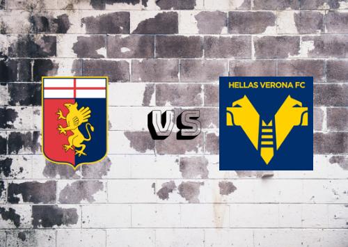 Génova vs Hellas Verona  Resumen