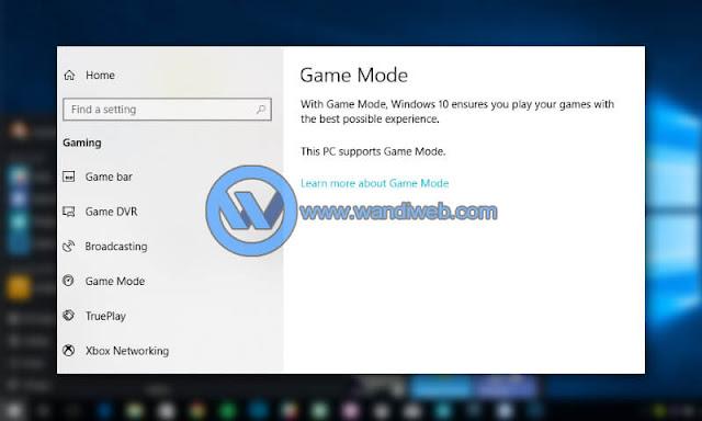 Cara Optimasi Performa Windows 10 untuk Bermain Game - WandiWeb