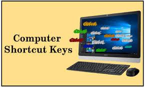 Computer keyboard keys and their functions, 30 shortcut keys in computer, Shortcut keys in MS Word, 20 shortcut keys