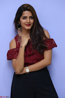 Pavani Gangireddy in Cute Black Skirt Maroon Top at 9 Movie Teaser Launch 5th May 2017  Exclusive 091.JPG
