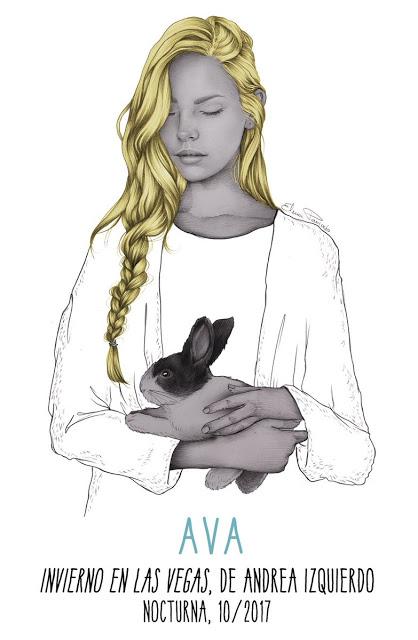 Ilustración de Ava que parece en Invierno en las Vegas