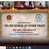 """Launching of 1st in the World """"Sri Sri School of CyberPeace"""" in collaboration with CyberPeace Foundation; along with 4 other Research Centers, and Faculty of Emerging Technologies by Poojya Gurudev Sri Sri Ravi Shankar Ji"""