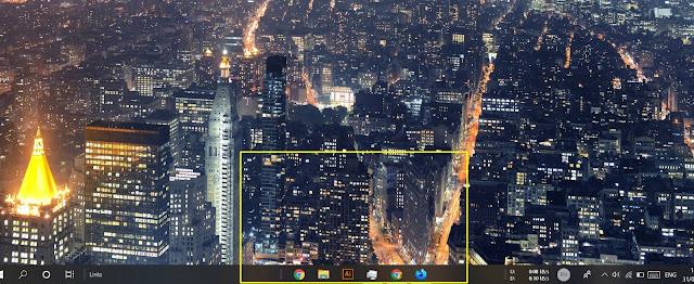 Membuat Icon Taskbar di Tengah tanpa Software