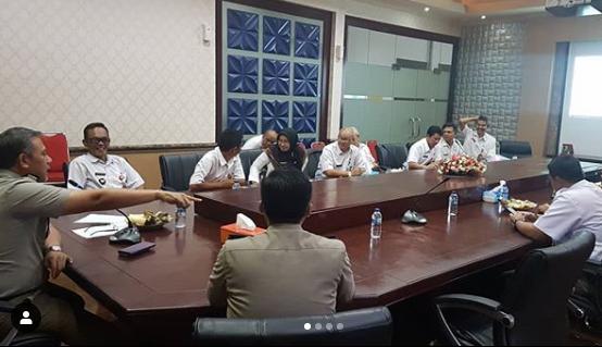 Lurah Ranum Ikuti Rapat Teknis Evaluasi Pemetaan Partisipatif Bandung Kota