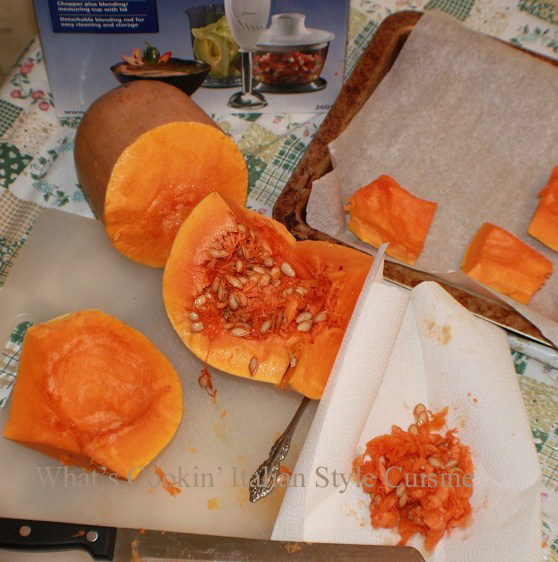 this is a butternut squash seeded and peeled