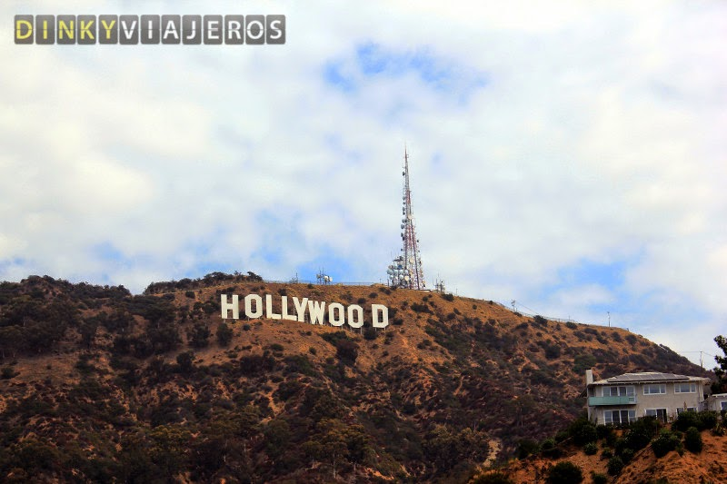 Hollywood sign. Los Angeles (California)