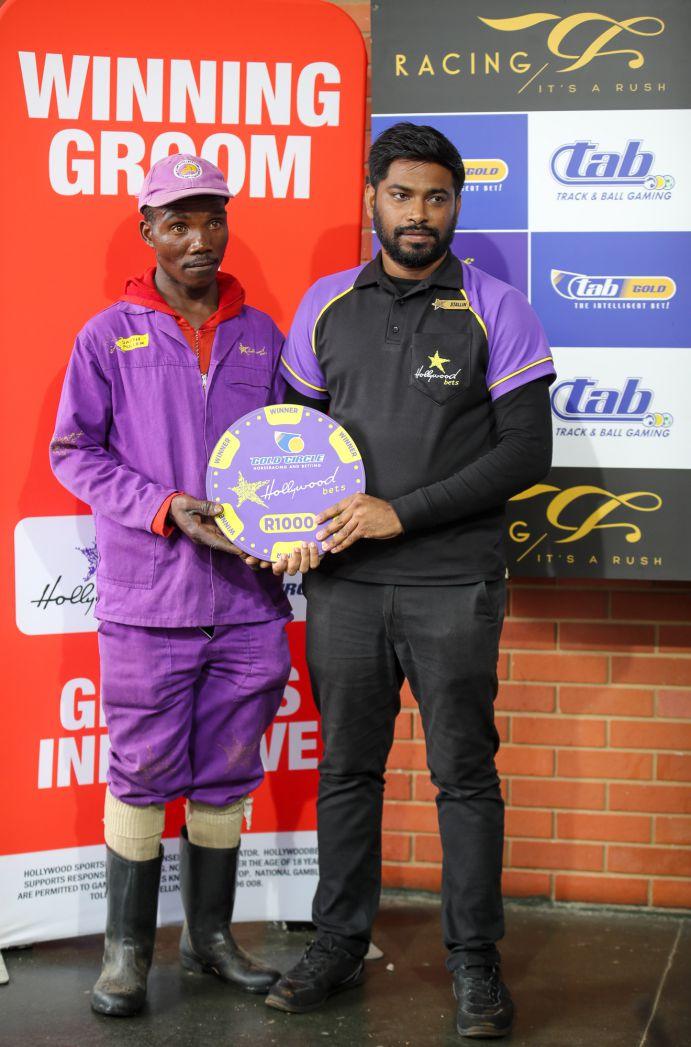 Grooms' Initiative Winners - 19th January 2020 - Hollywoodbets Greyville - Race 6 - Alphious Mntungwana - GEORGINA ROSE