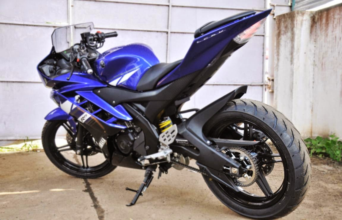 Kumpulan Foto Modifikasi Motor Yamaha R15 Terbaru  Modif
