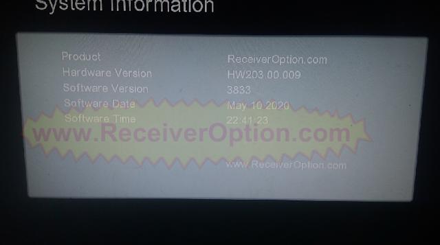 GX6605S HW203.00.009 NEW SOFTWARE WITH DLNA RENDER & XTREAM IPTV OPTION