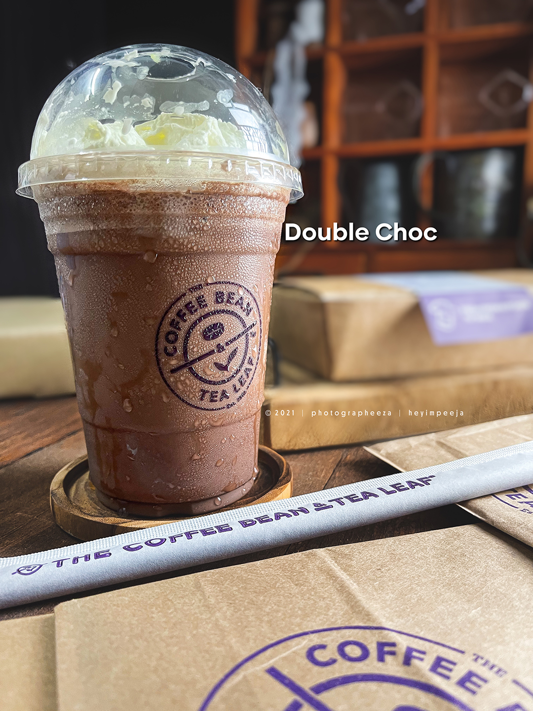 Double choc ice blended The Coffee Bean & The Leaf